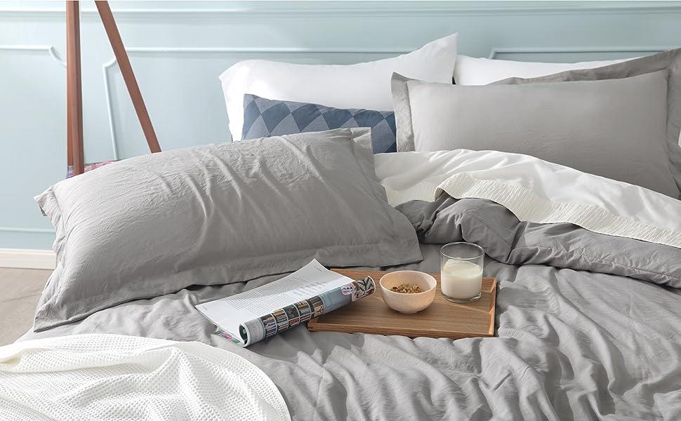 Bedsure | Ultra Soft Hypoallergenic Microfiber Duvet Cover Set 2