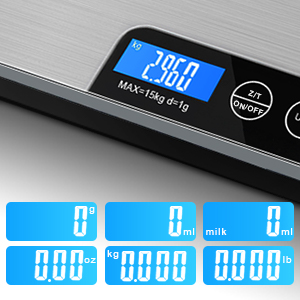 food scales digital weight grams and oz