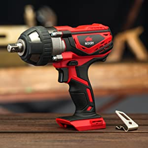 1//2 inch Detent Anvil Torque 2700 Max IPM 2200 Max RPM /& Belt Clip NoCry 20V Cordless Impact Wrench Bare Tool ONLY with 300 ft-lb 400 N.m