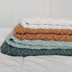 Throw Blanket Soft Blankets Cozy Blanket Throw Blankets Faux Fur Blanket fringe acrylic Throws