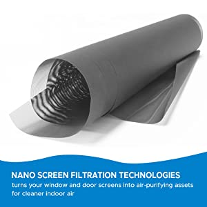 nano screen filtration technology roll available in different sizes