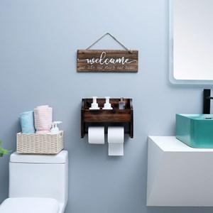 magazine holder bathroom