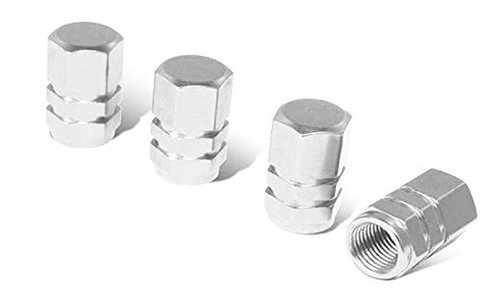 4 piece Aluminium Valve Caps