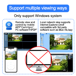 Support multiple viewing way