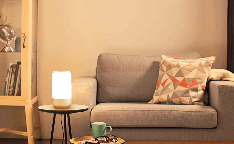 RGBW lamp for living room