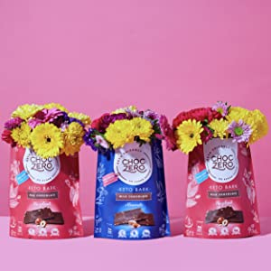 Vegan keto dark chocolate