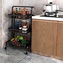 kitchen trolley shelf