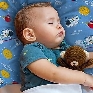 space toddler pillow