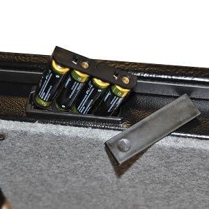 Batterijvak.