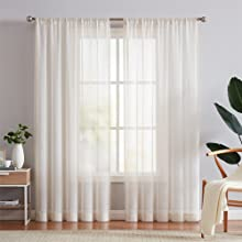 sheer curtains 84 inches
