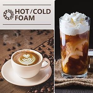 COLD FOAM AND HOT FOAM