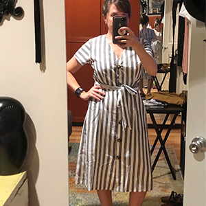 casual midi dresses for women