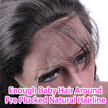 baby hair lace front wig