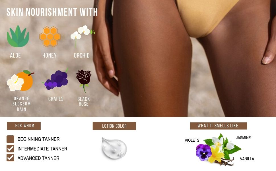 advanced bronzer accelerator sunbed skin tanner sun dha darkest maximizer moisturizer supplies