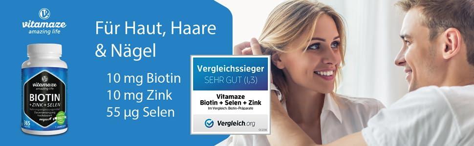 Biotin Zinc Selenium Zinc Selenium Hair Skin Nails Skin Hair Nails