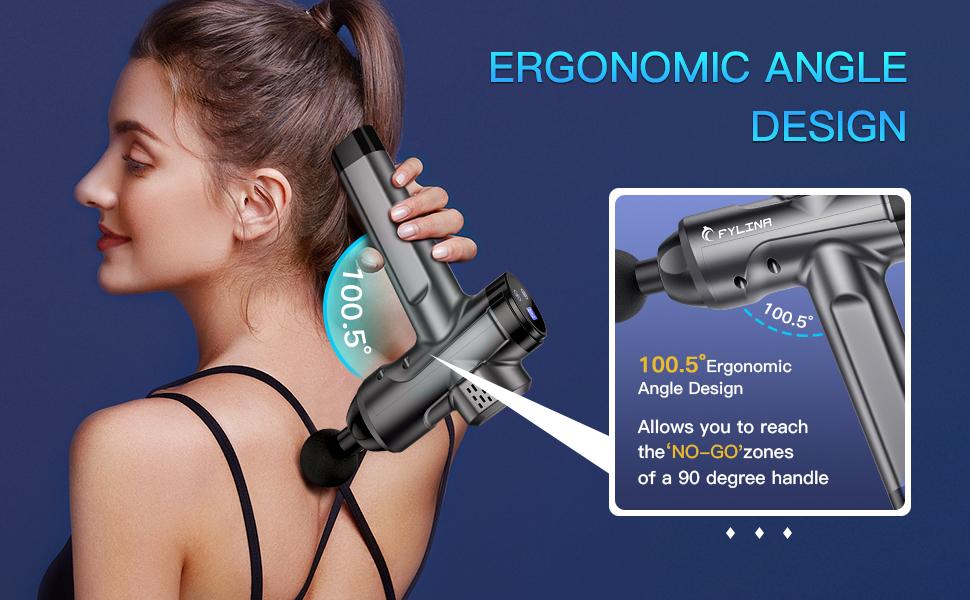 Massager Gun Deep Tissue Percussion Muscle Massage