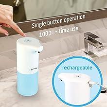 automatic sensor touchless soap dispenser machine for bathroom sanitizer disinfectant dispenser home