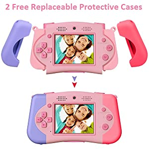 Free 2 replaceable protective cases