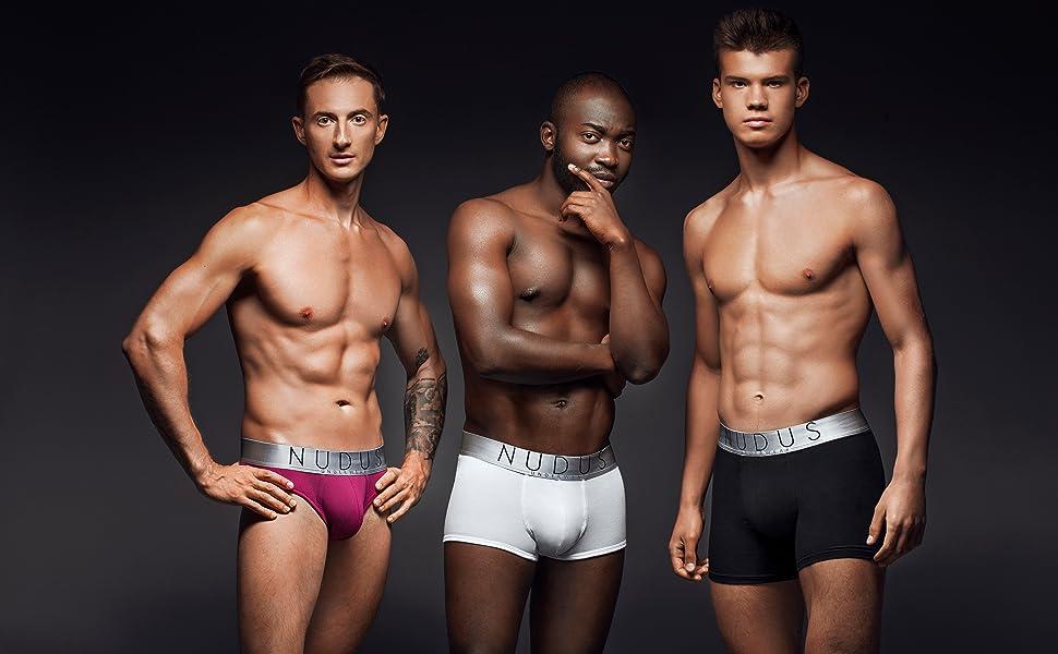 nudus mens underwear luxury cotton high quality sexy boxer briefs