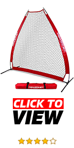 PowerNet A-frame Pitching Protection Screen protects coaches from comebackers.