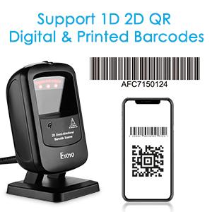 1d 2d barcode scanner
