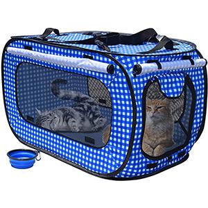 ROLSCALER Portable Cat Cage Kennels
