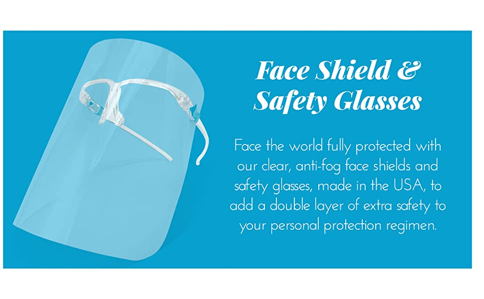 Face Shield amp; Safety Glasses
