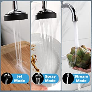 """Commercial Sink Faucet Wall Mount Pre-Rinse Faucet with Sprayer 25"""" Height 8"""" Center Wall Mounted"""