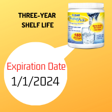 3 Year Shelf Life