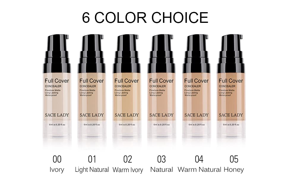 concealer corrector waterproof long wearing perfect coverage face makeup