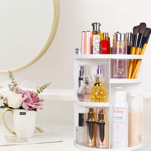 Keep your cosmetics neat on dresser