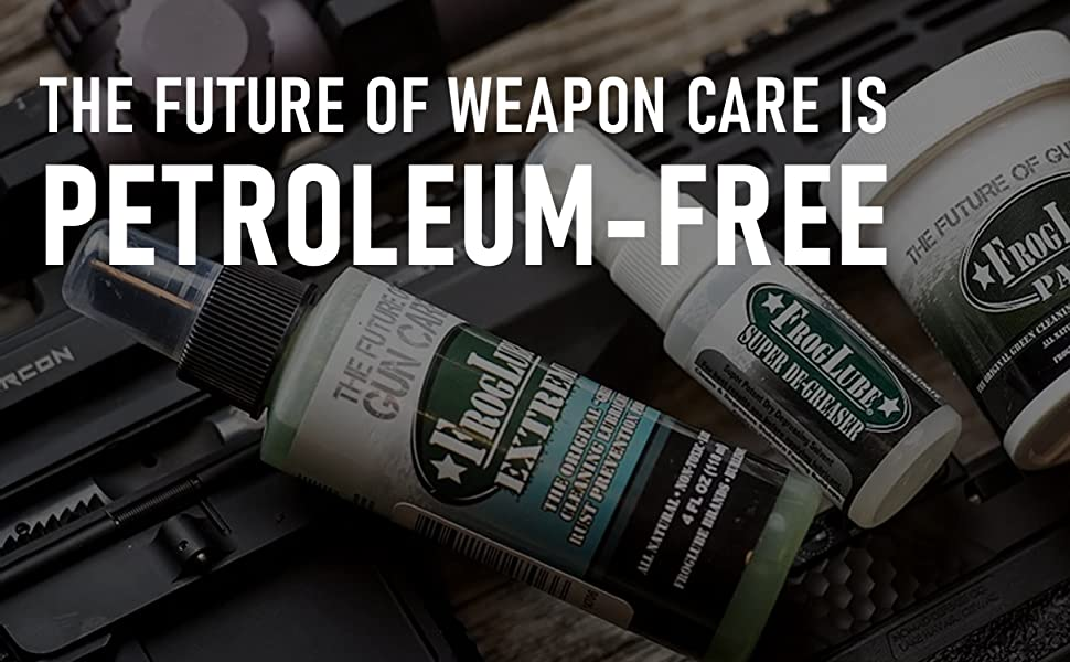 Froglube weapon care