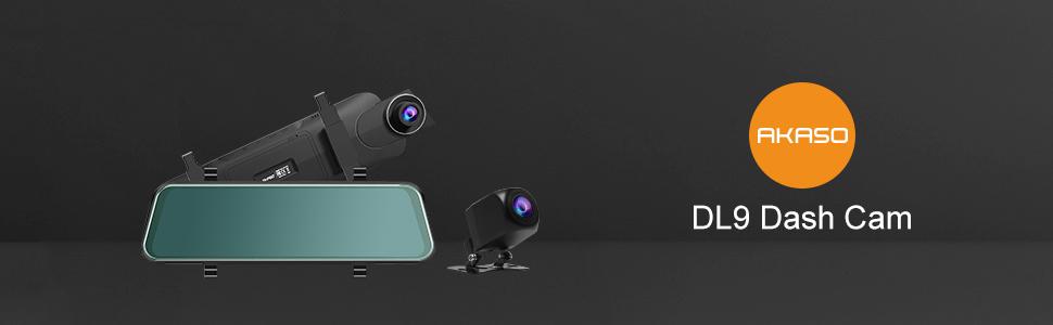 DL9 mirror dash cam