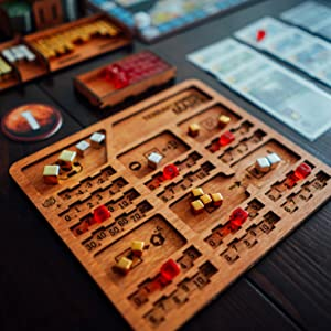 Player dashboards copatible with terraforming mars board game