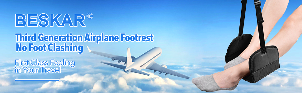 airplane footrest for travel