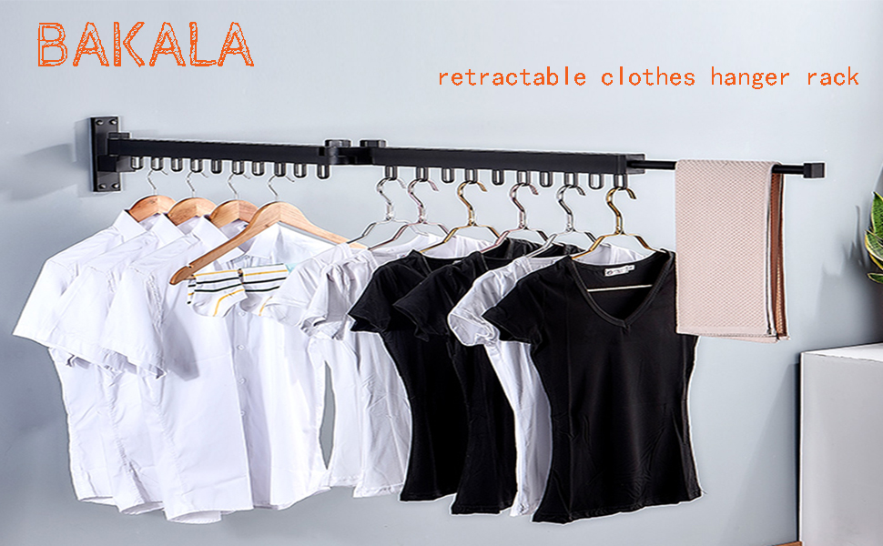 Retractable Fold Away Clothes Dry Racks