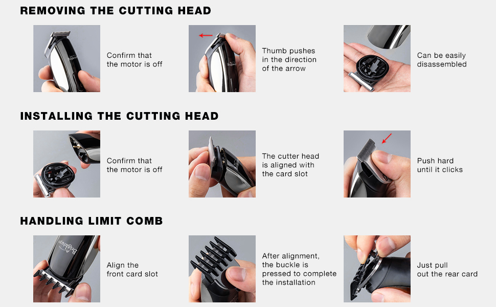 hair clippers for men grooming kit hair trimmer