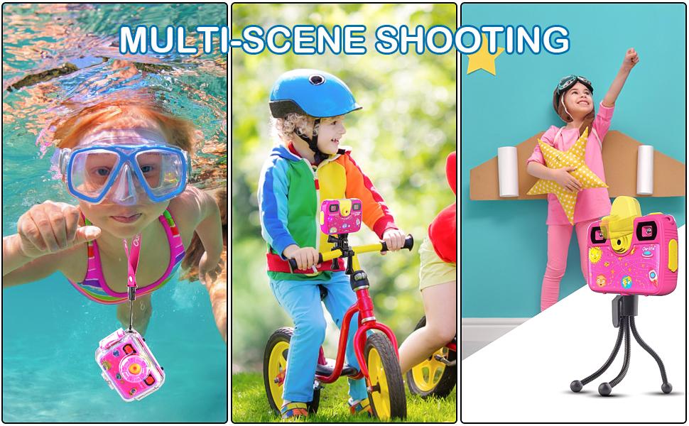 kids action camera kiddie zoom camera toddler camera