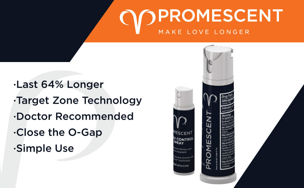 Promescent Desensitizing Clinically Proven Longer