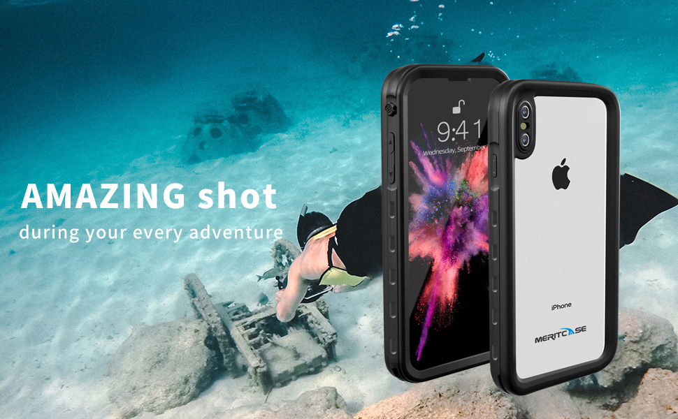 Mixmart waterproof case for iPhone xs max