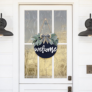 welcome wreaths for front door