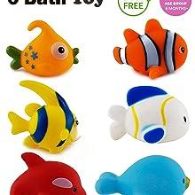 , bath toys for baby, bath toys, fish bath toys, fish chu chu toys, toys, Chu Chu Colourful Fish Toy