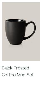 16 oz black coffee mugs