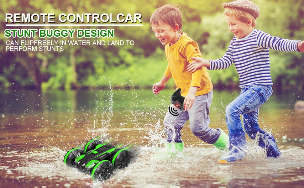 remote control boat amphibious remote control car for 4-12 kids adults