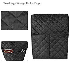 Fine Workmanship & 2 Extra Large Accessories Storage Pockets