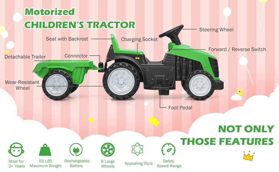 ride on tractor