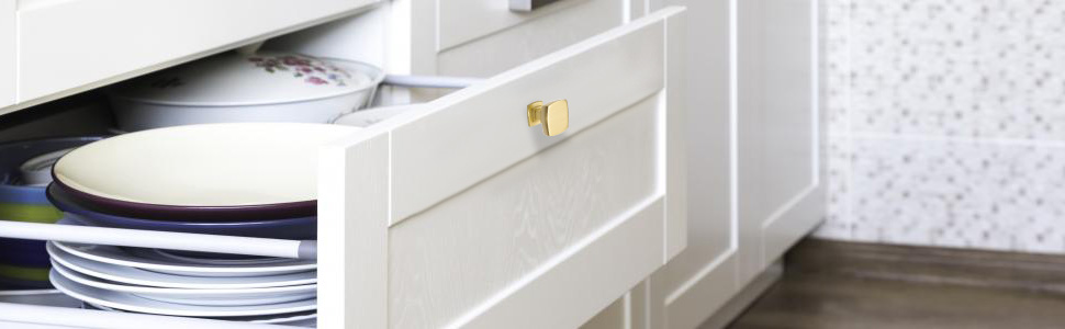 brushed brass knobs
