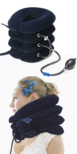neck traction pillow relief pain bath pillow for neck shoulder head Neck Traction Device Pillow