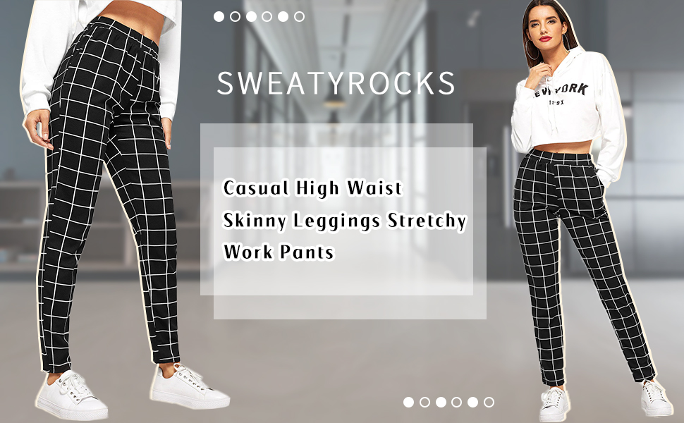 Casual High Waist Skinny Leggings