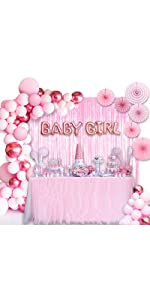 Baby Shower Decorations for Girl